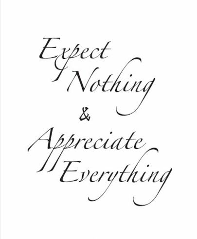 A Young Adults Guide of Things to Appreciate and Things to StopExpecting